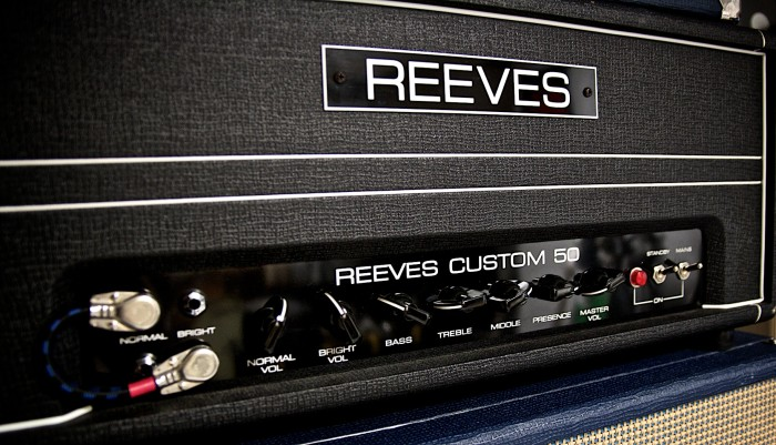 Reeves Custom 50. These are my main stage settings - including the linked input (the guitar is plugged into the upper bright).