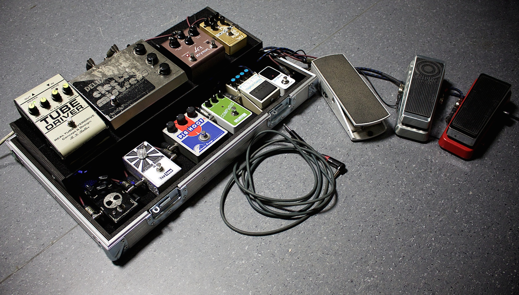 Pedalboard Stage