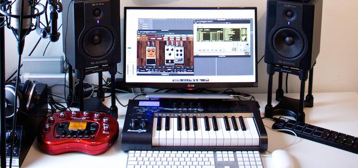 Pleasant My Home Recording Studio Bjorn Riis Largest Home Design Picture Inspirations Pitcheantrous