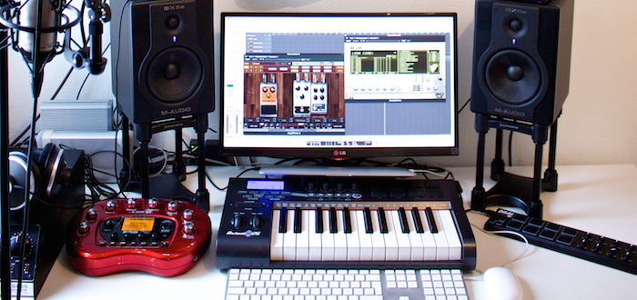 Outstanding My Home Recording Studio Bjorn Riis Largest Home Design Picture Inspirations Pitcheantrous